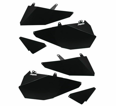 DragonFire Racing Polaris RZR Door Filler Panel Kit 4 Seat 520866
