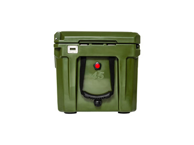 ROAM Adventure Co Rugged Cooler 45QT ODGREEN ROAM-CLR-45-ODGREEN
