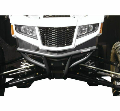 DragonFire Racing Arctic Cat Wildcat XX Bumper Grey Front 522655