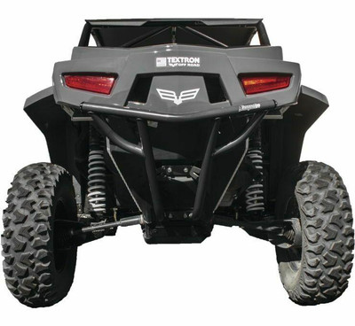 DragonFire Racing Arctic Cat Wildcat XX Bumper Grey Rear 522656