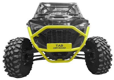 Tab Performance Polaris RZR Pro XP Tubular Front Bumpers Lime Squeeze 715-1002-LIM