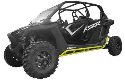 Tab Performance Polaris RZR XP Pro Tubular Rock Sliders Lime Squeeze 4 Seater 715-2042-LIM