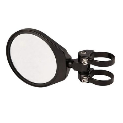Axia Alloys 6.0″ Folding Side Mirror Convex Glass Black MOD6CFSM-BK