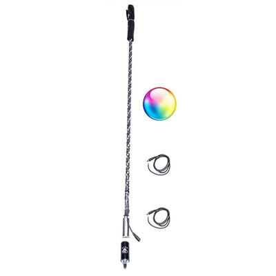 5150 Whips Bluetooth LED Whips 5 FT Single BT-5FT-S