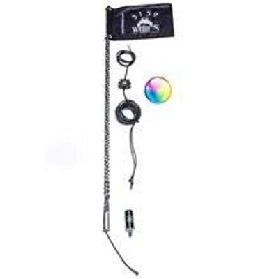 5150 Whips Remote Controlled LED Whips 5 FT Rem-5FT