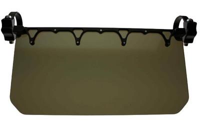 Axia Alloys 12″ Wide Sun Visor Tinted Shield Black MODSVT-BK