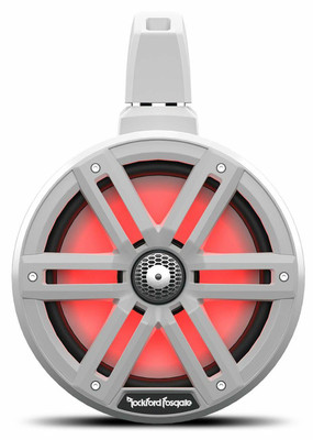 Rockford Fosgate M2 8 Color Optix 2-way Horn Wake Tower Speakers White M2WL-8H