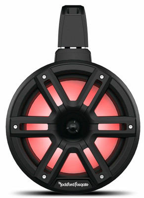 Rockford Fosgate M2 8 Color Optix 2-way Horn Wake Tower Speakers Black M2WL-8HB