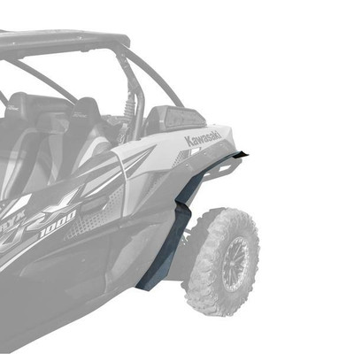 MudBusters Kawasaki Teryx KRX 1000 Ultra Max Coverage Fender Flares Rear Only MB-KRX-UMC-R