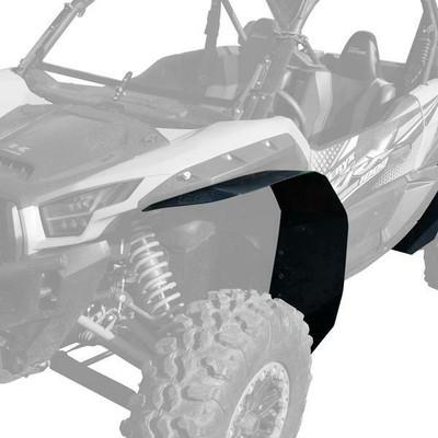 MudBusters Kawasaki Teryx KRX 1000 Ultra Max Coverage Fender Flares Front Only MB-KRX-UMC-F