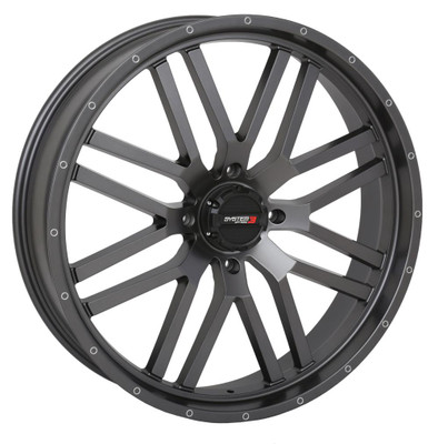 System 3 Offroad ST-3 UTV Wheels 22X6.5 4X156 10mm Gunmetal Grey 22S3-1556