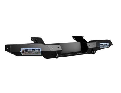 Thumper Fab Can-Am Defender Winch Ready Rear Bumper Black TF040601-BK