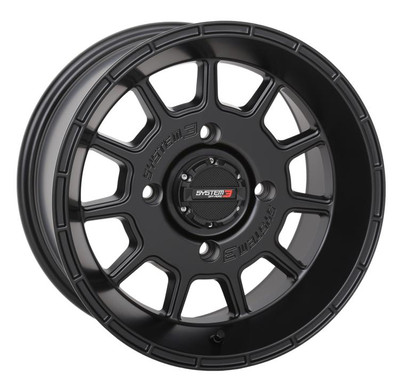 System 3 Offroad ST-5 UTV Aluminum Wheels 15x104x137-5mmBlack 15S3-513710