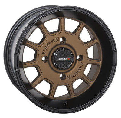 System 3 Offroad ST-5 UTV Aluminum Wheels 14x74x15610mmBronze/Black 14S3-5256