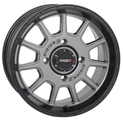 System 3 Offroad ST-5 UTV Aluminum Wheels 14x104x156-5mmGunmetal 14S3-535610