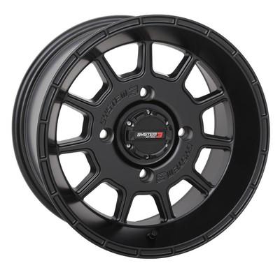 System 3 Offroad ST-5 UTV Aluminum Wheels 15x74x15630mmBlack 15S3-5156