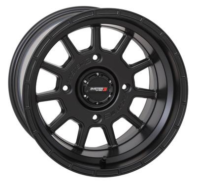 System 3 Offroad ST-5 UTV Aluminum Wheels 15x104x15630mmMatte Black 15S3-515610