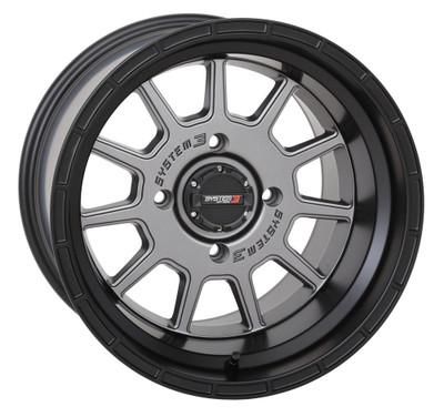 System 3 Offroad ST-5 UTV Aluminum Wheels 15x104x15630mmGunmetal 15S3-535610