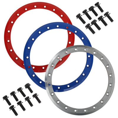 System 3 Offroad SB-3 UTV Beadlock Rings 14Blue 14S3RING-140