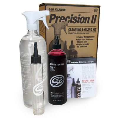 SandB Filters Precision II Cleaning and Oil Kit Red Oil 88-0008