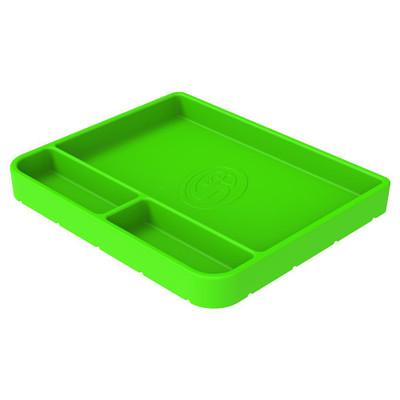 SandB Filters Silicone Tool Tray Lime Green Medium 80-1000M