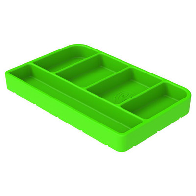 SandB Filters Silicone Tool Tray Lime Green Small 80-1000S
