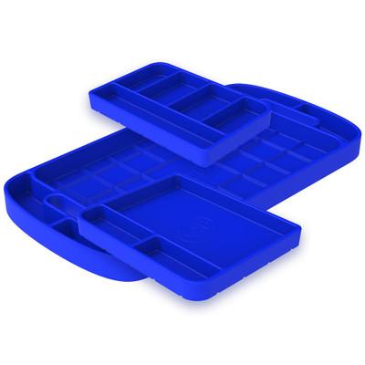 SandB Filters Silicone Tool Tray Blue 3 Piece Set 80-1002
