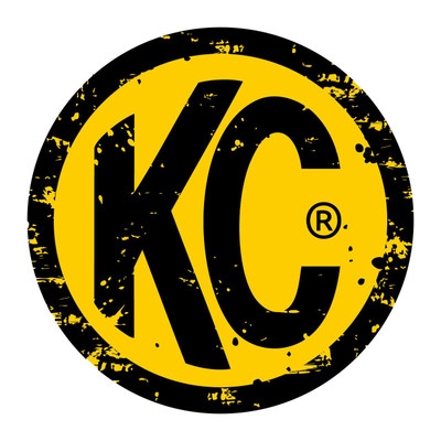 KC HiLites grunge 3 Decal 4-pk 9939