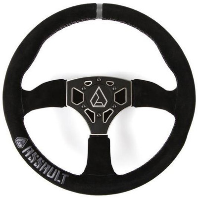 Assault Industries 350R Suede UTV Steering Wheel Raw 100005SW0361