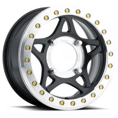 Walker Evans 14x7 Beadlock Racing UTV Wheels Gloss Black Walker Evans 2413