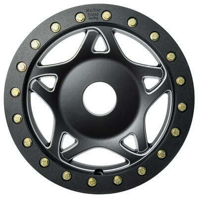 Walker Evans 14x6 Legend II Beadlock Racing UTV Wheels Satin Black Walker Evans 2417