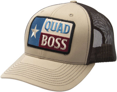 QuadBoss Texas Snap Hat - 115 KHAKI 115 KHAKI