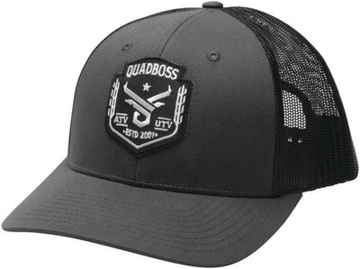 QuadBoss Barbwire Snap Hat - 112 GREY 112 GREY