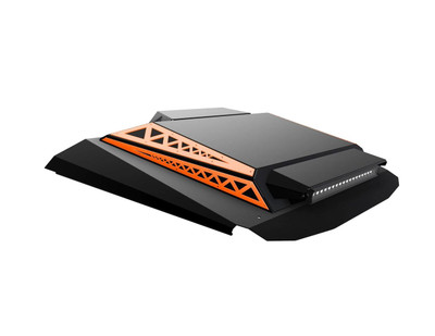 Thumper Fab Polaris RZR 4 Seat Audio Roof L2/L3 Accent Panels Orange Madness TF020304A-OR