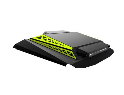 Thumper Fab Polaris RZR 4 Seat Audio Roof L2/L3 Accent Panels Lime Squeeze TF020304A-LS