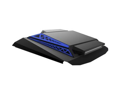 Thumper Fab Polaris RZR 2 Seat Audio Roof L2/L3 Accent Panels Polaris Blue TF020301B-BL