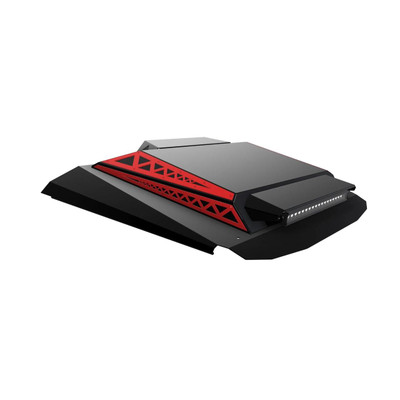Thumper Fab Polaris RZR 2 Seat Audio Roof L2/L3 Accent Panels Indie Red TF020301B-R