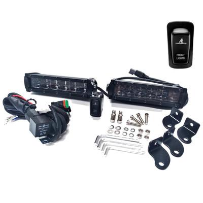 Thumper Fab Polaris Ranger Front Winch Bumper Light Kit TF010501G