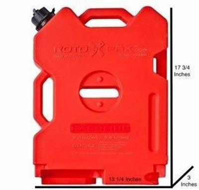 Rotopax Gasoline Container 2 Gal RX-2G