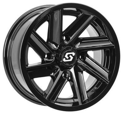 Sedona Chopper UTV Wheel 14X7 4X137 Gloss Black 570-1291