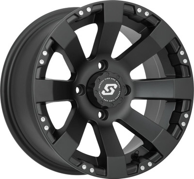 Sedona Spyder UTV Wheel 12X7 4X137 10mm Satin Black 570-1147