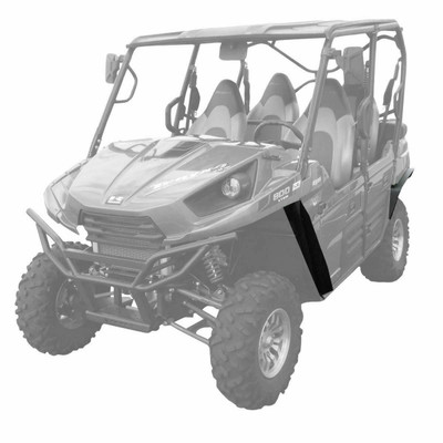 MudBusters 2012-21 Kawasaki Teryx 4 Fender Flares Front Only Ultra Max Coverage 92008