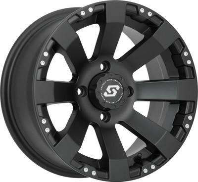 Sedona Spyder UTV Wheel 12X7 4X156 Satin Black 570-1146
