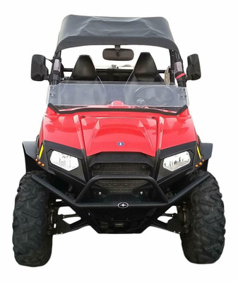 MudBusters Polaris RZR 570 Fender Flares Front Only Extra Coverage MB-RZR570FO1