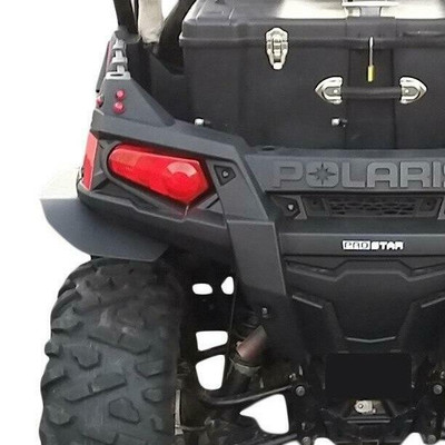 MudBusters Polaris RZR 570 Fender Flares Rear Only Extra Coverage MB-RZR570RO1