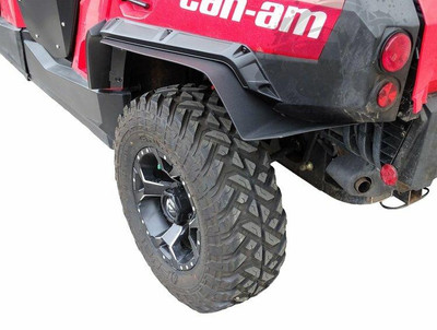 MudBusters Can-Am Commander Fenders Rear Only Extra Coverage With XT Fenders 95008