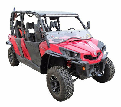 MudBusters Can-Am Commander Fenders Front Only Max Coverage With XT Fenders 95006