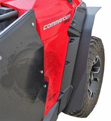 MudBusters Can-Am Commander Fenders Rear Only Max Coverage With XT Fenders 95007