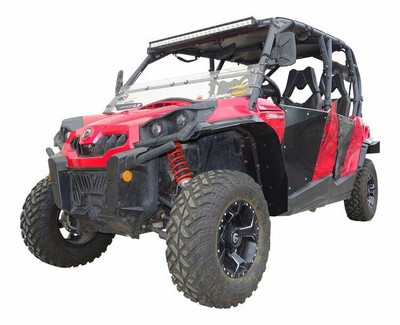 MudBusters Can-Am Commander Fenders Front Only Standard With XT Fenders 95011