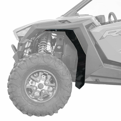 MudBusters Polaris RZR Pro XP MAX Coverage Fender Flares Front and Rear 1 90010